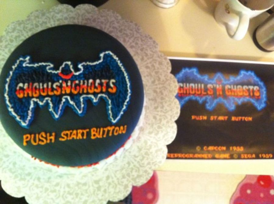 Ghouls And Ghosts  on Cake Central