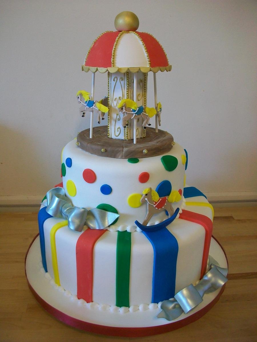 Carousel Cake - CakeCentral.com