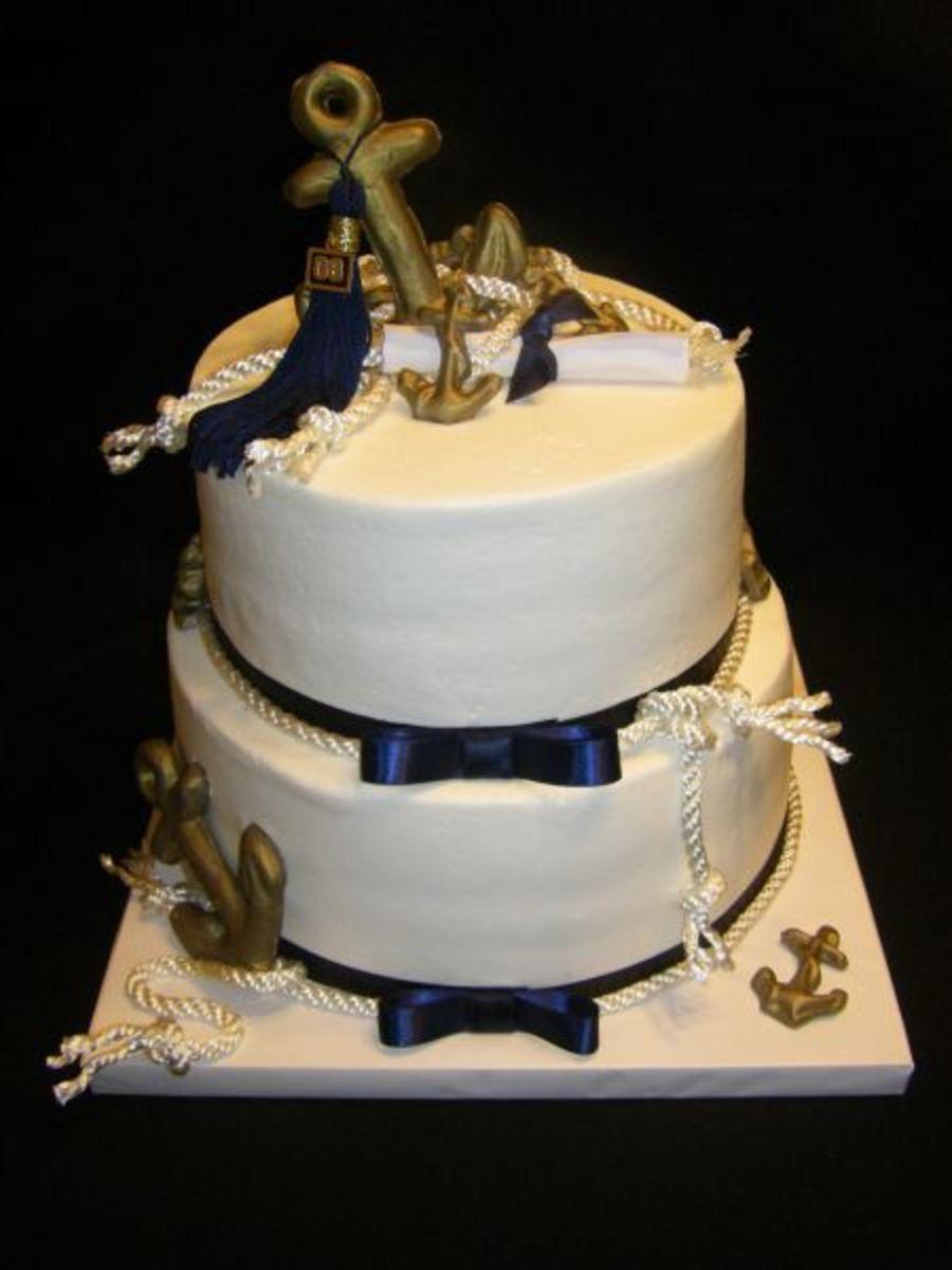 Lace Birthday Cake Gold
