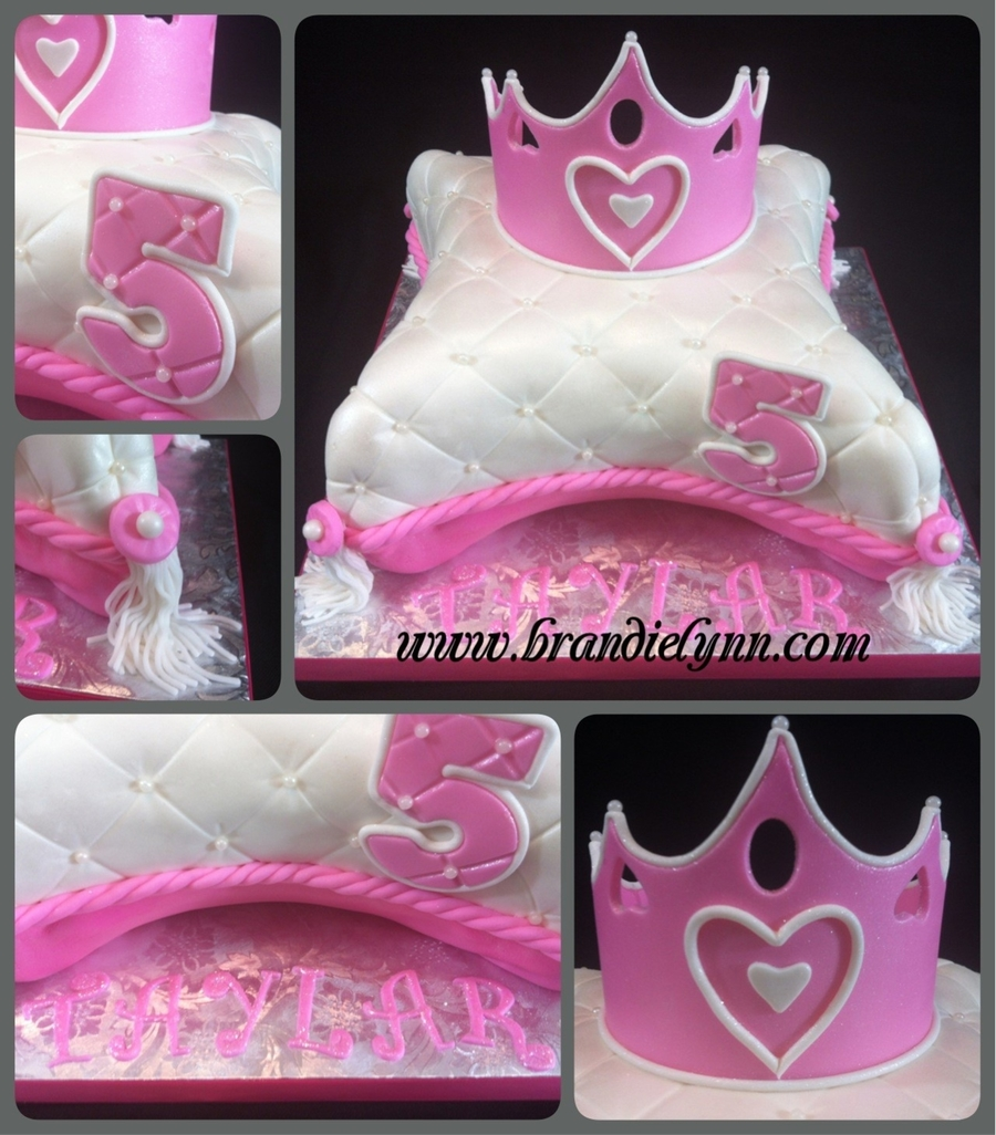 Princess Pillow on Cake Central