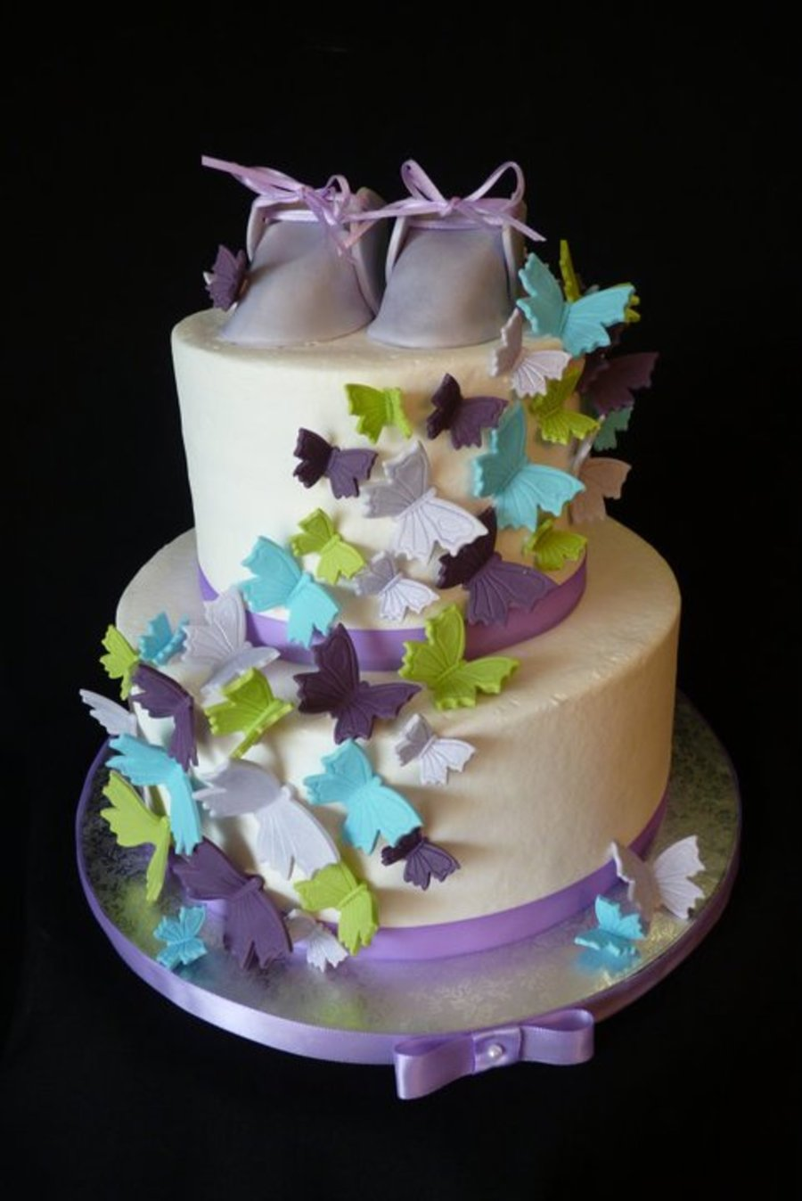 Butterfly Babyshower on Cake Central
