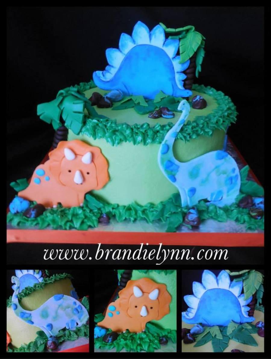 dinosaur baby shower cakecentral