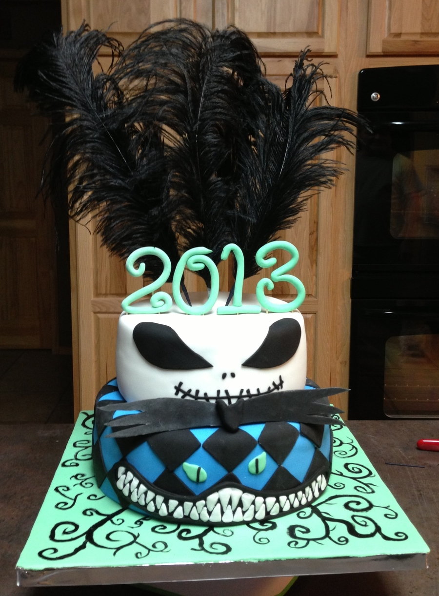 Tim Burton Cake  on Cake Central