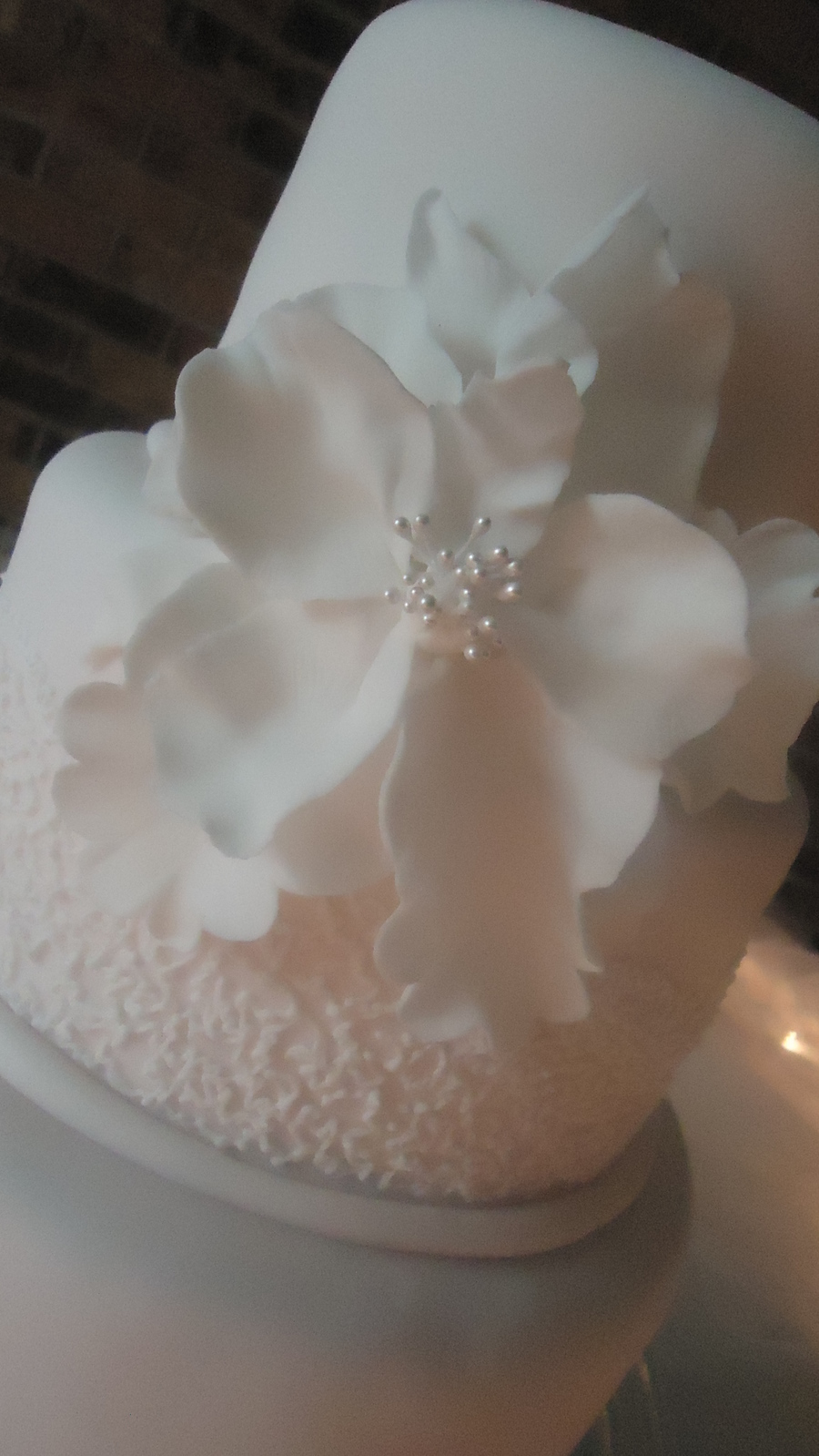 Fantasy Sugar Flower on Cake Central