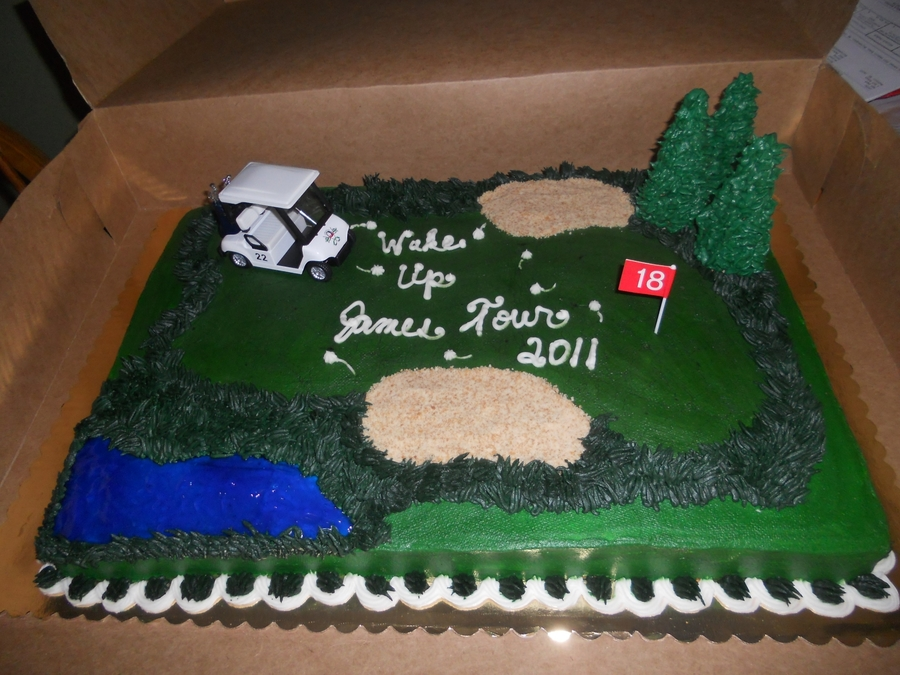 Golf Tournament on Cake Central