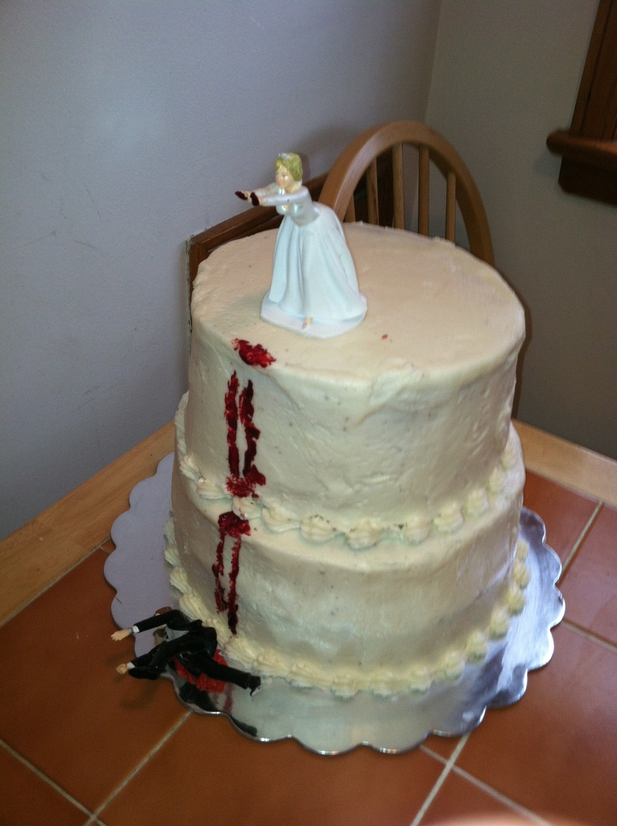 Divorce Cake on Cake Central