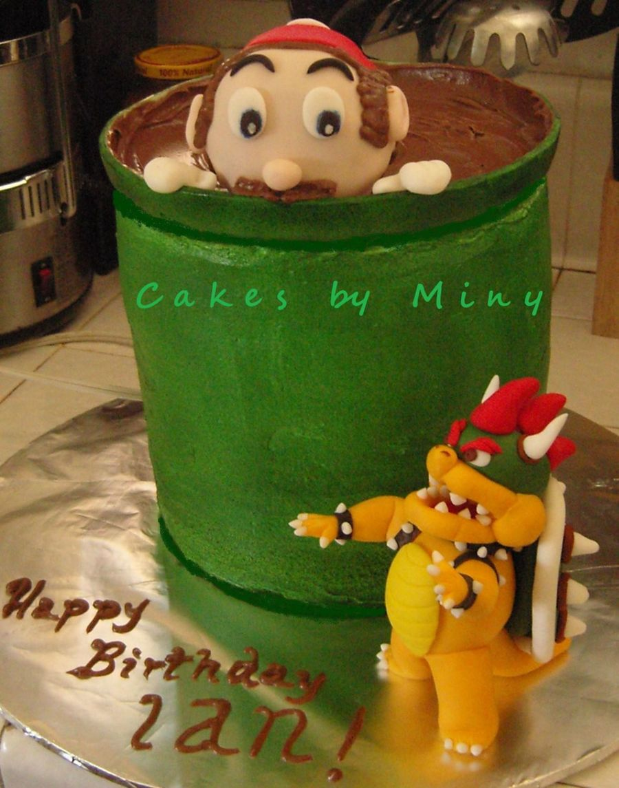 Super Mario Bros. on Cake Central
