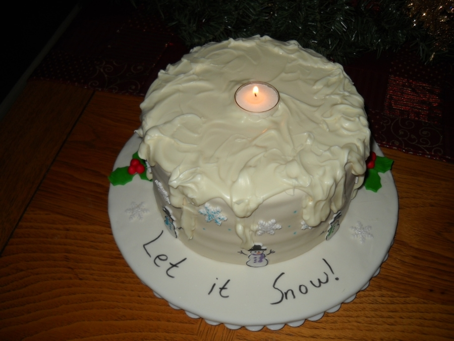 Let It Snow Ii on Cake Central