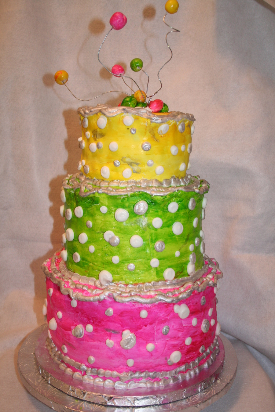 Handpainted Fun on Cake Central
