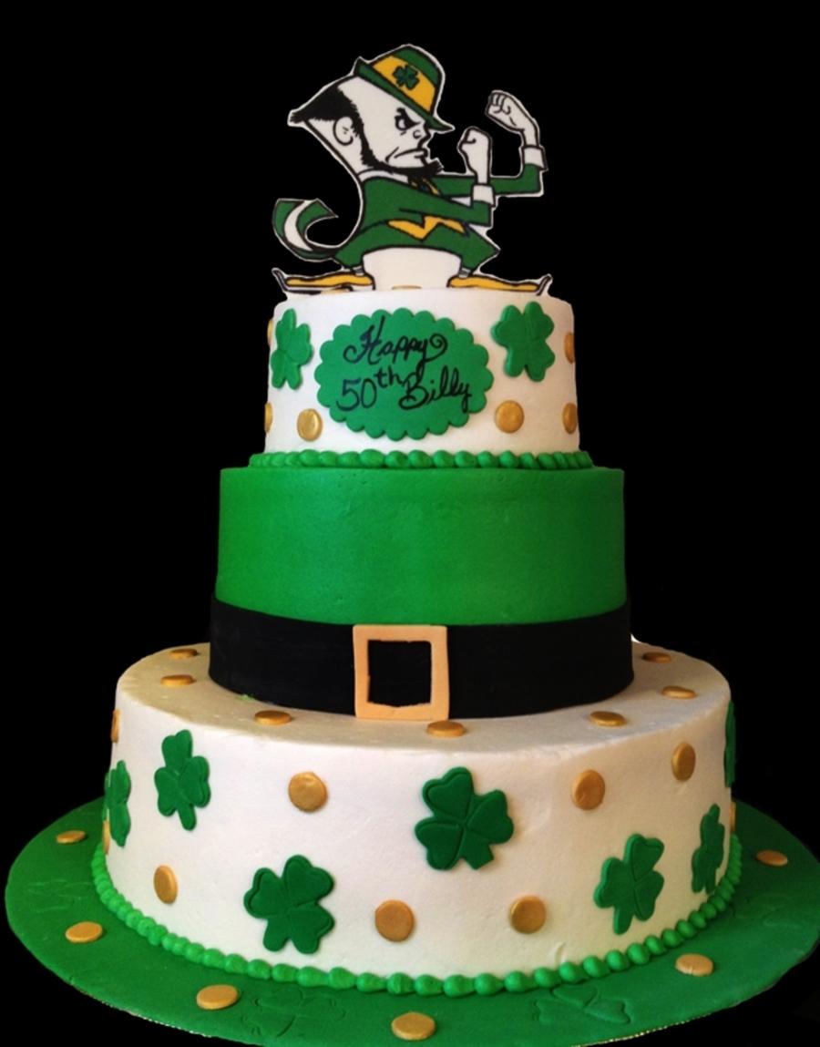 Irish Themed Wedding Cake Toppers