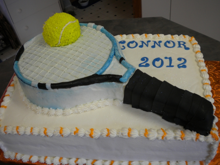 Connor's Graduation on Cake Central