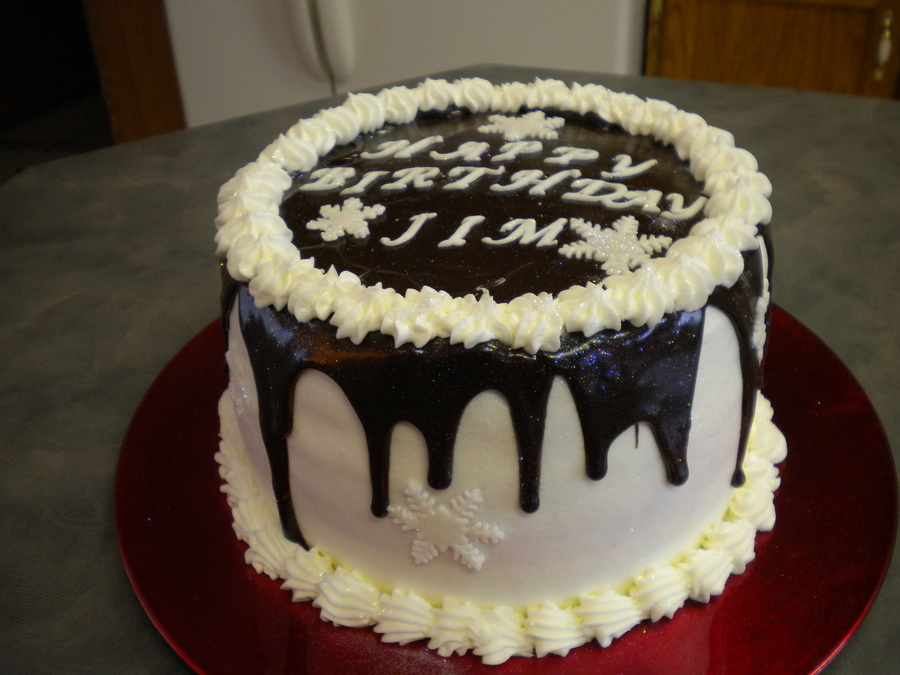 Jims Birthday Checker Board White And Chocolate Inside 001Jpg on Cake Central
