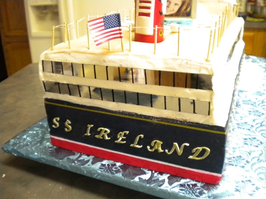 Irelands Disney Cruise Ship CakeCentralcom