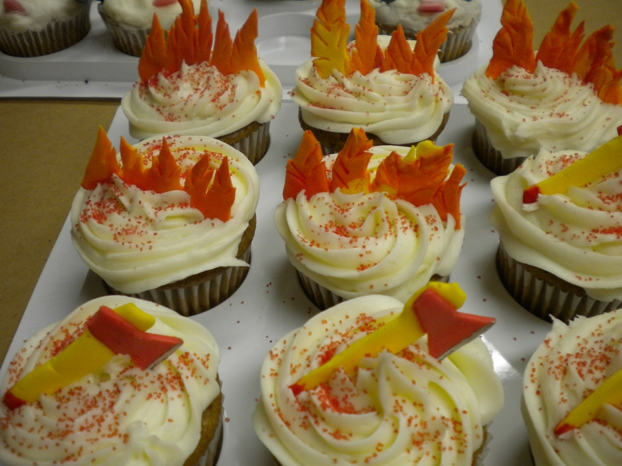 Cupcakes For Fireman's Banquet on Cake Central