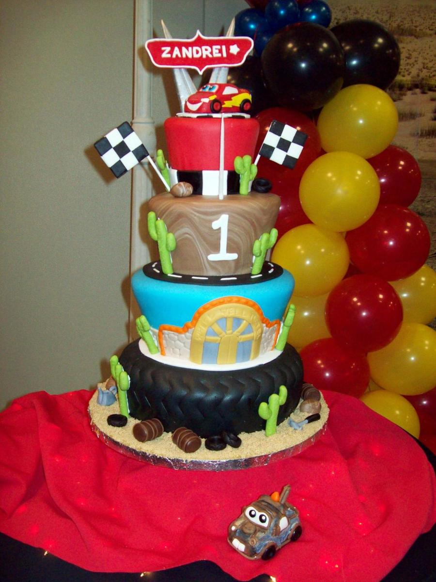 Cars!  on Cake Central