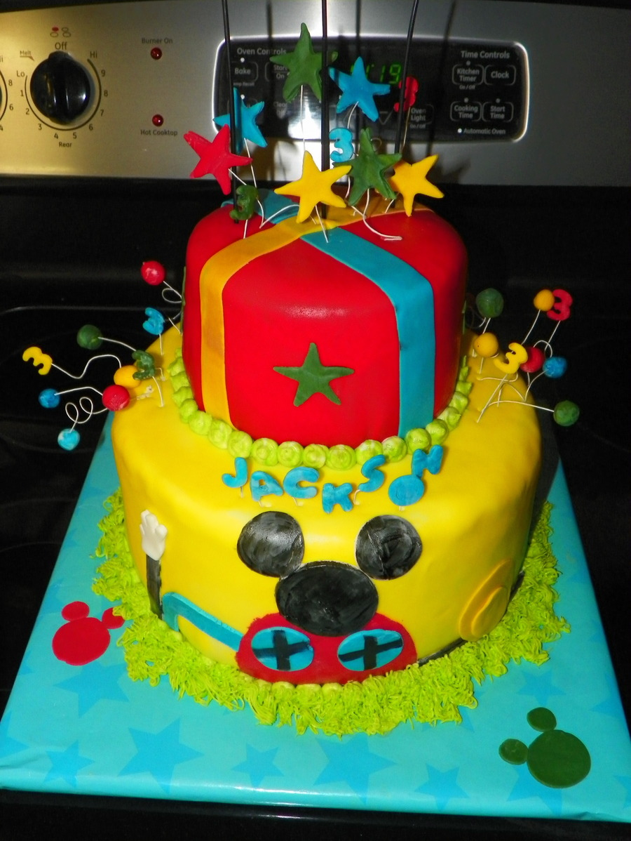 Mickey Mouse Club Cake on Cake Central