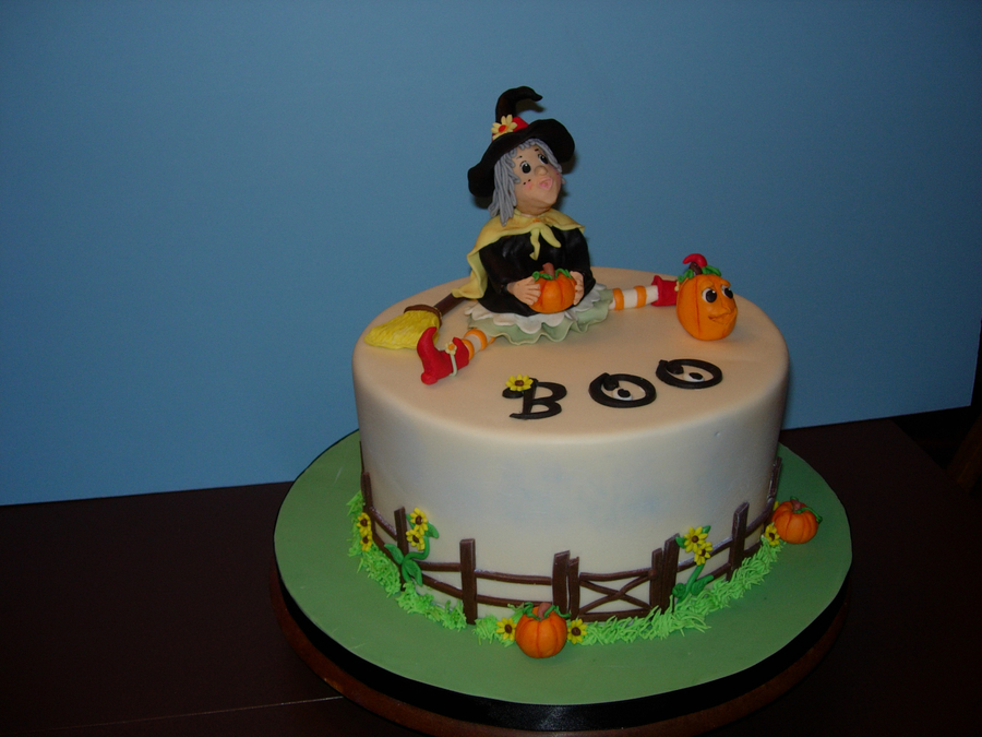 Halloween Witch  on Cake Central