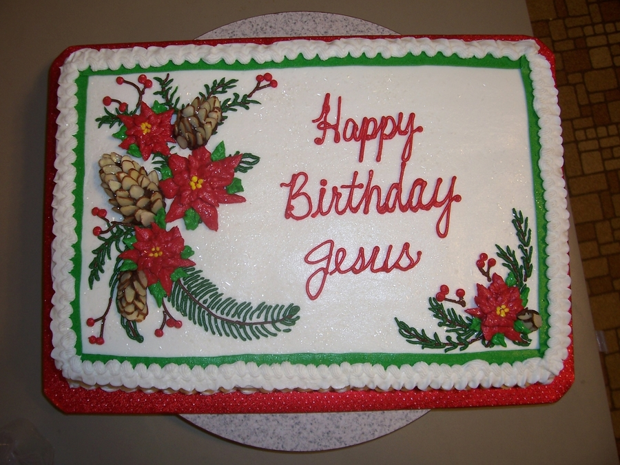 Excellent Happy Birthday Jesus Cakecentral Com Funny Birthday Cards Online Fluifree Goldxyz