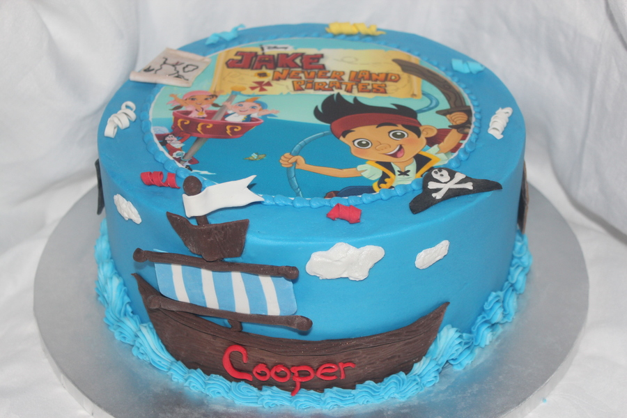 jake and the neverland pirates tiered cake - photo #38