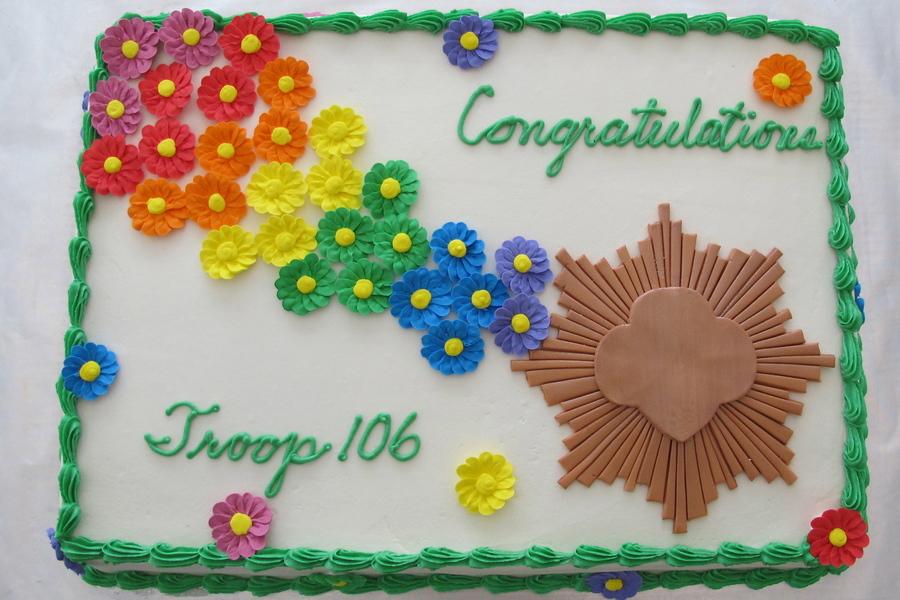 Girl Scout Bronze Award - Cakecentralcom-1078