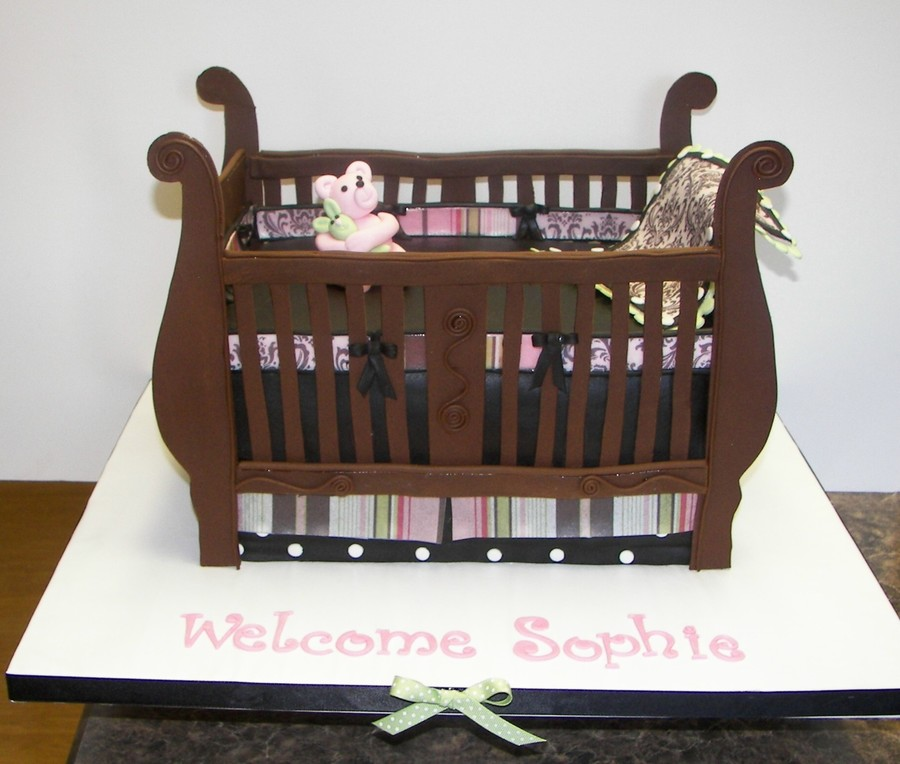 Baby Crib Cakecentral Com