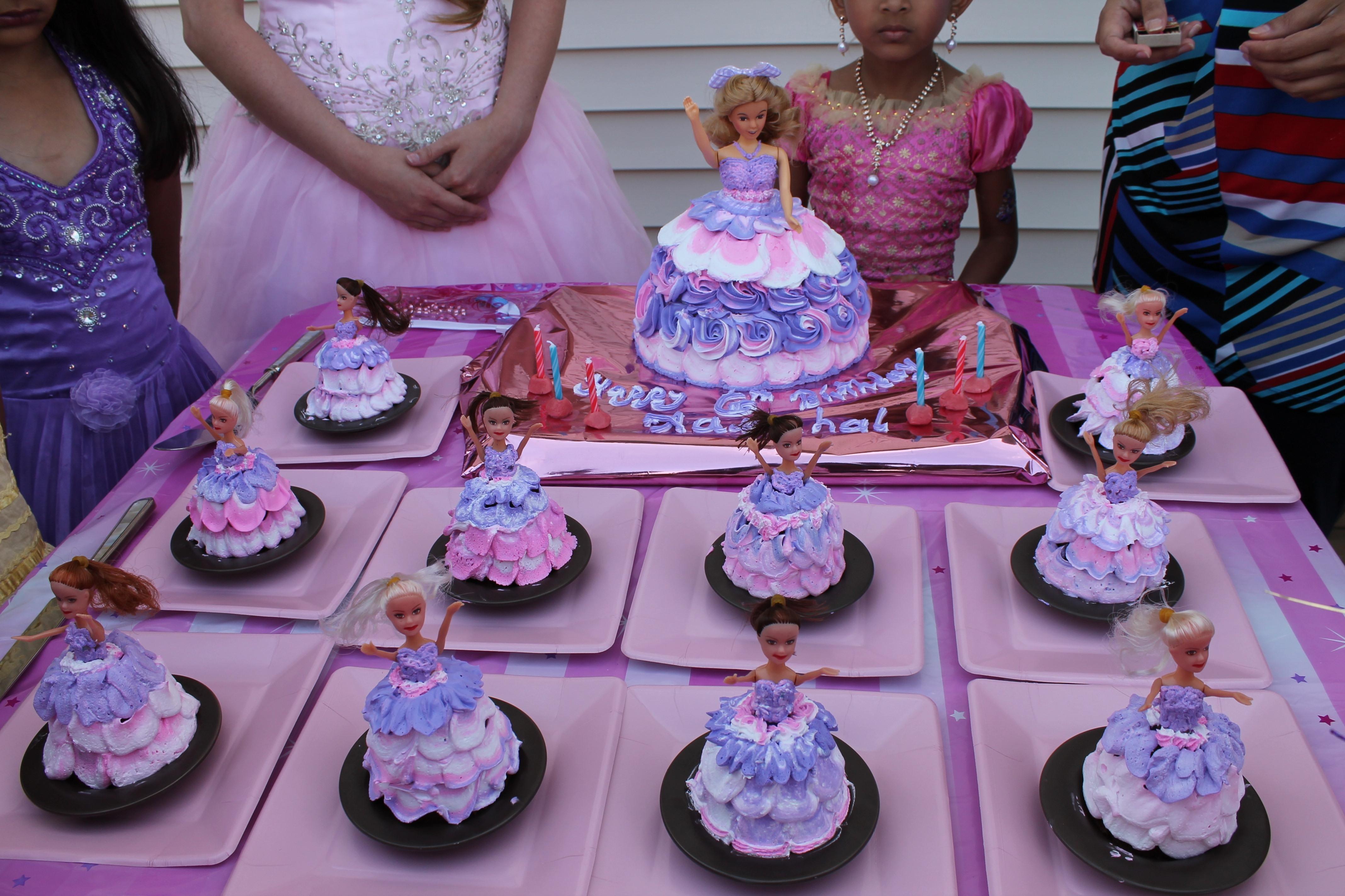 Barbie Princess Birthday Cake CakeCentralcom