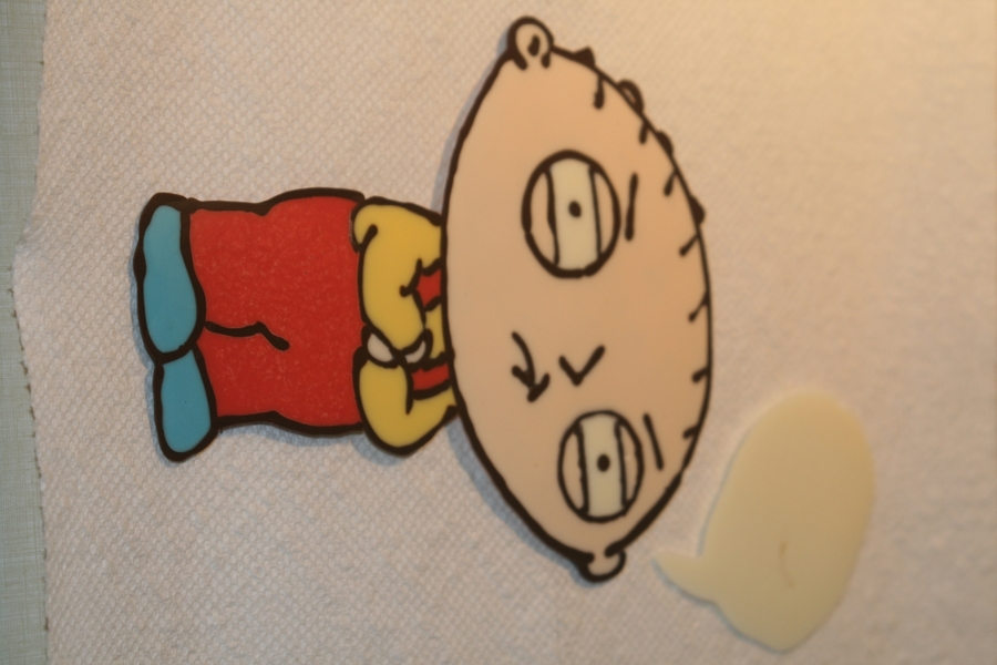 Stewie Griffin on Cake Central