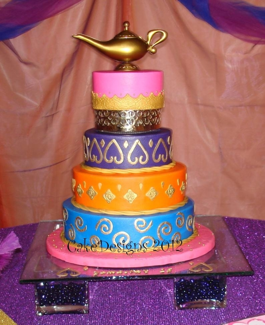 Arabian Theme Quinceanero on Cake Central