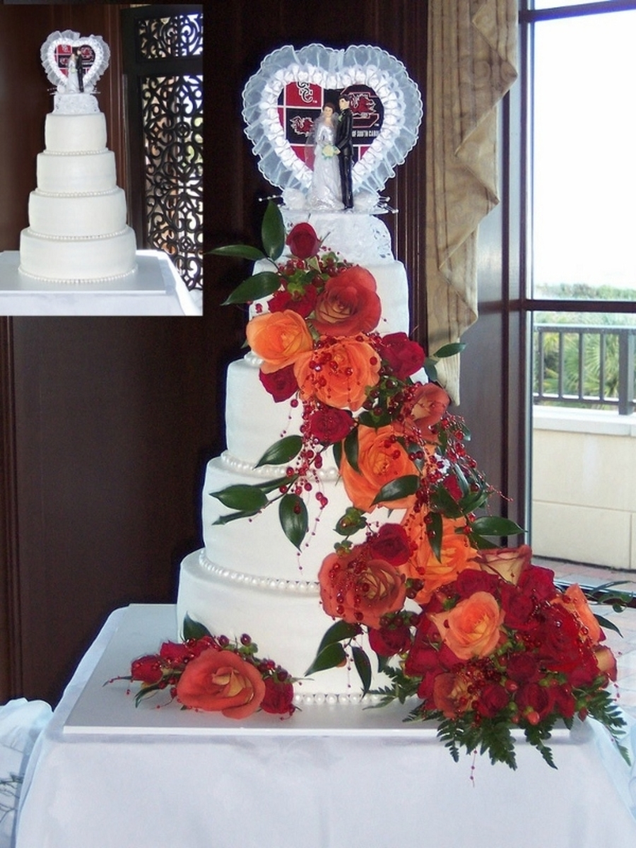 Usc Wedding Cake on Cake Central