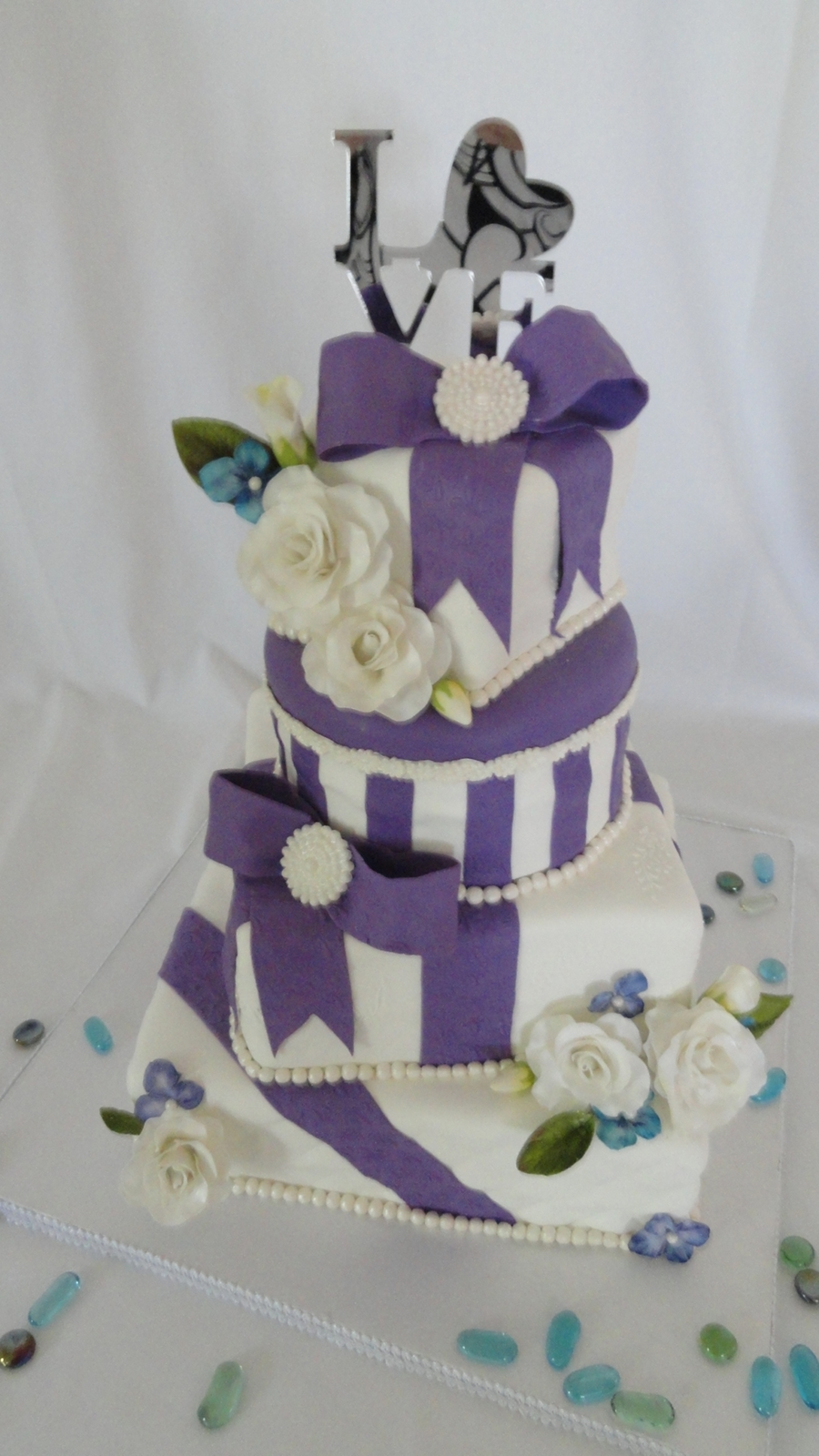 Purple Gifts on Cake Central