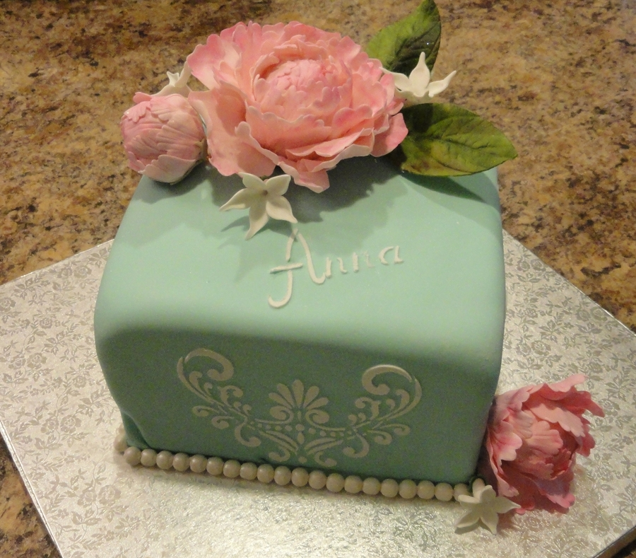 Peony For Anna  on Cake Central
