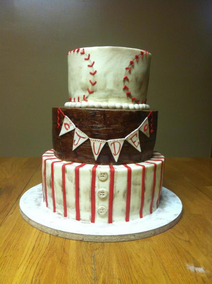 Vintage Baseball Baby Shower Cakecentral