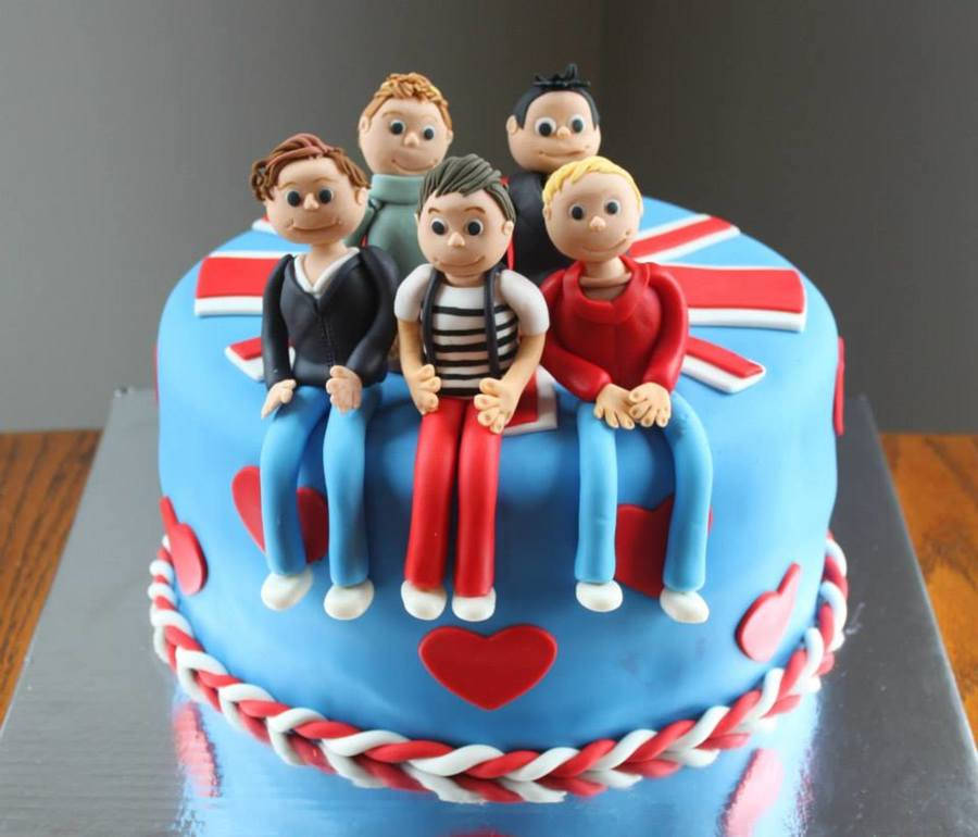 Astounding My Daughters 10Th Birthday Cake One Direction Cakecentral Com Funny Birthday Cards Online Elaedamsfinfo