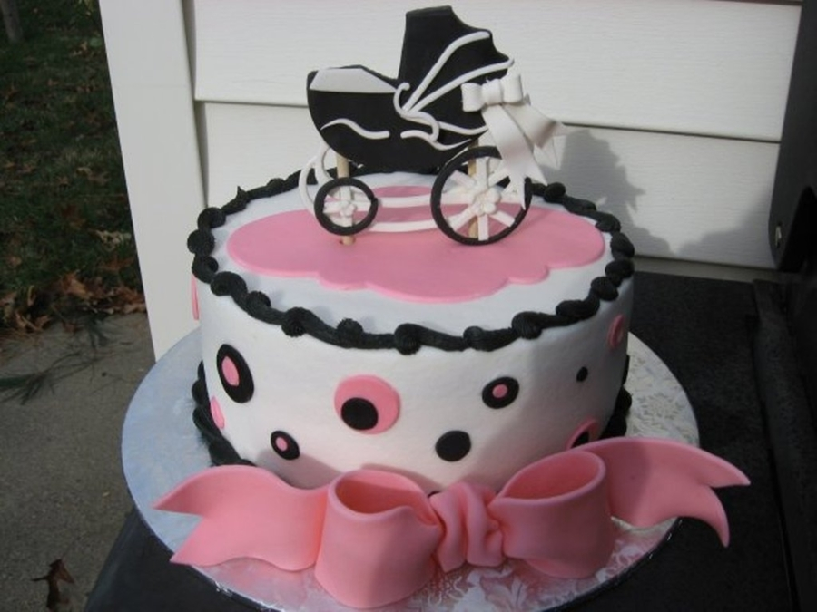 Baby Buggy on Cake Central
