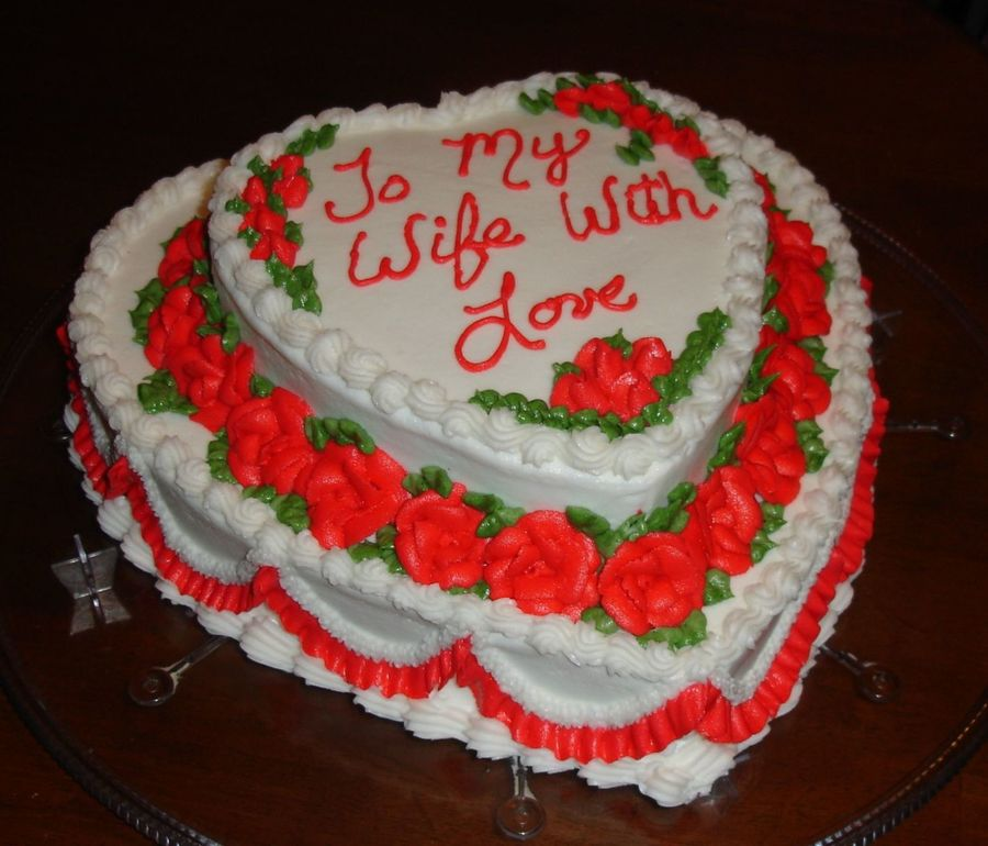 Anniversary Love  on Cake Central