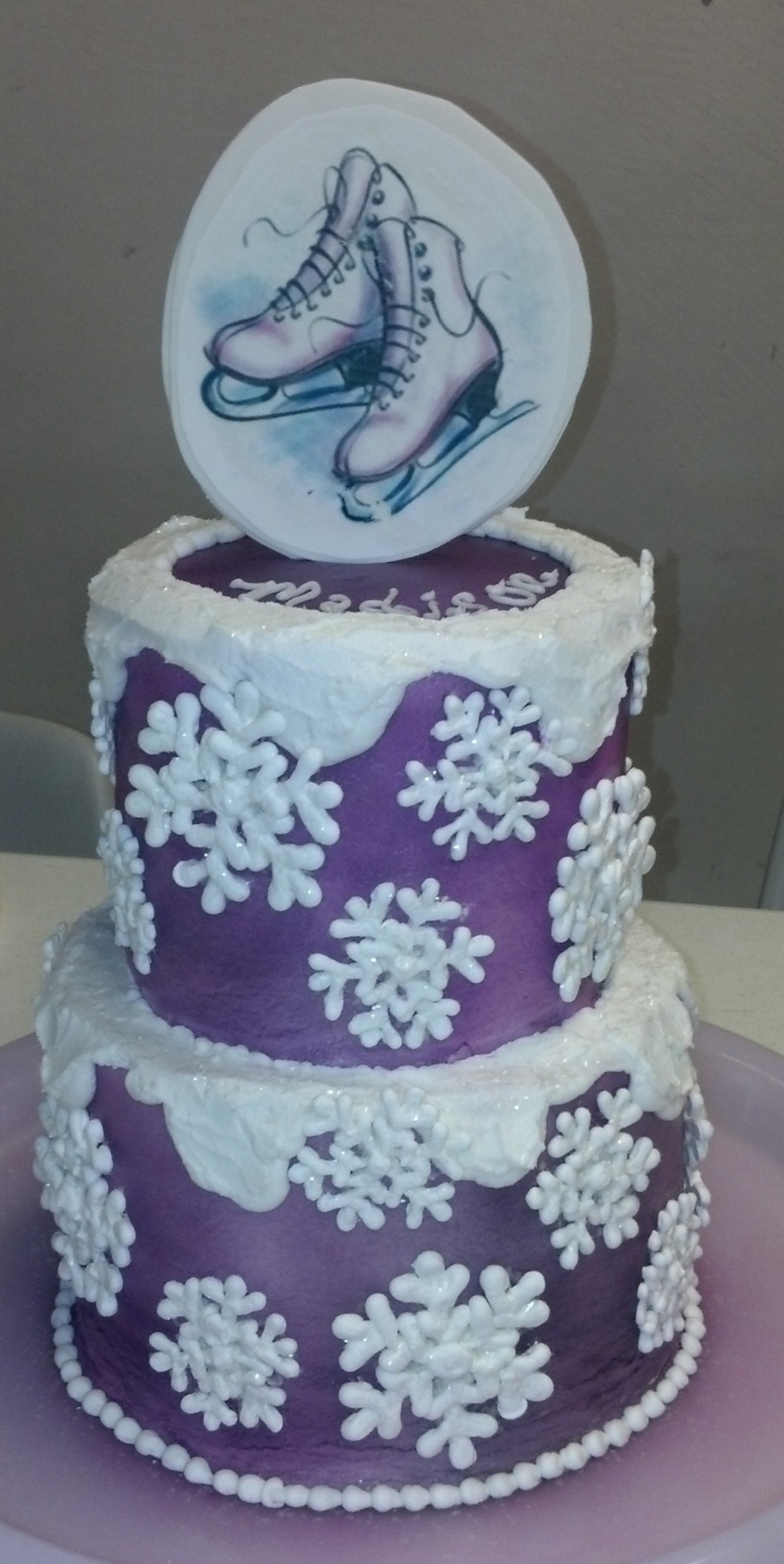 Ice Skating on Cake Central