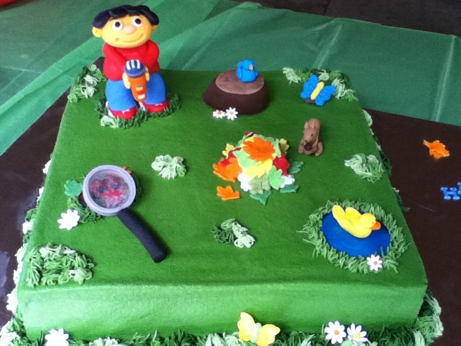 Awe Inspiring Sid The Science Kid Cakecentral Com Funny Birthday Cards Online Inifofree Goldxyz