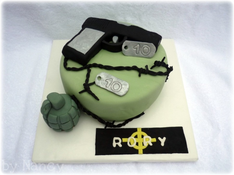 Call Of Duty/black Ops on Cake Central