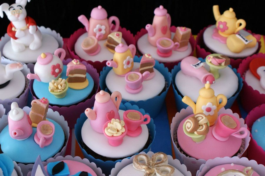 Teapot Cupcakes on Cake Central