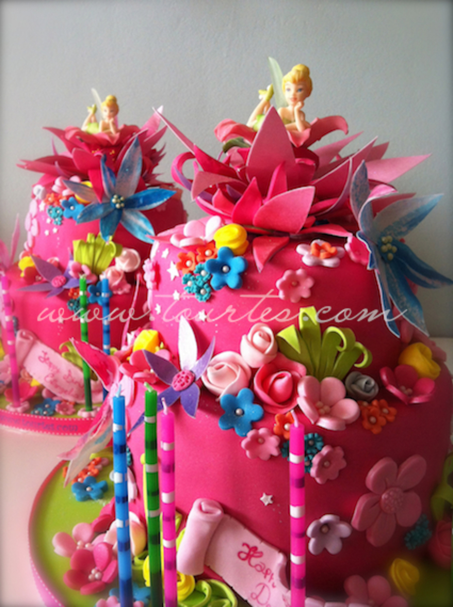 Tinkerbel Birthday Cakes on Cake Central