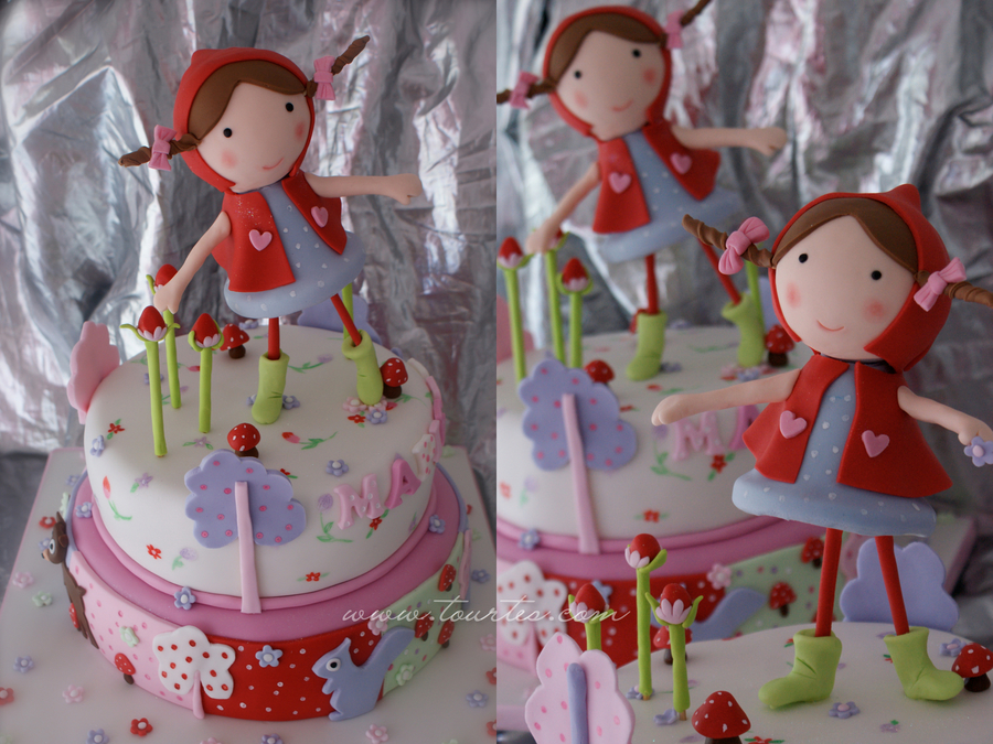 Little Red Riding Hood on Cake Central