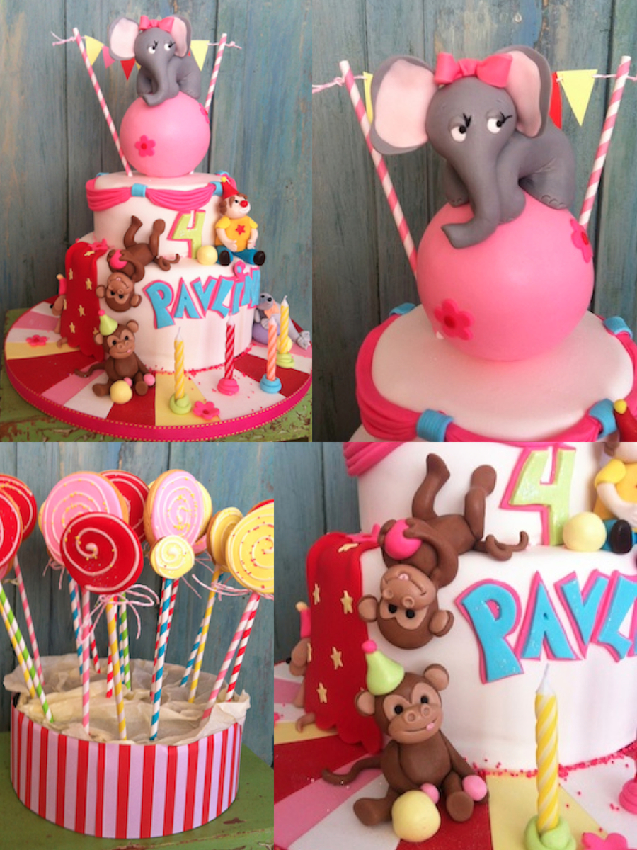 Girly Carneval Party on Cake Central
