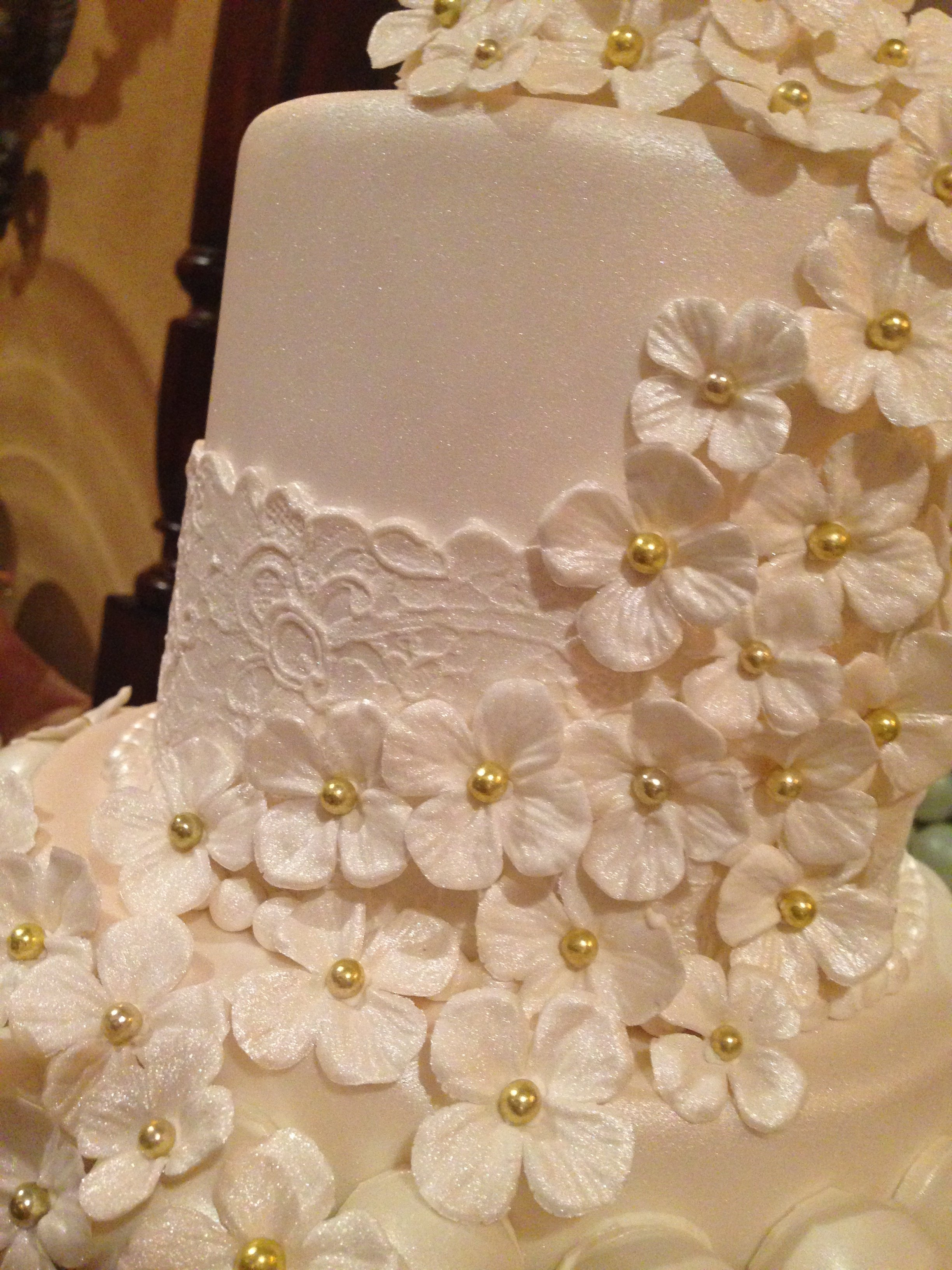 Cake Ball Wedding Cake With Satellite Cakes Cakecentral Com