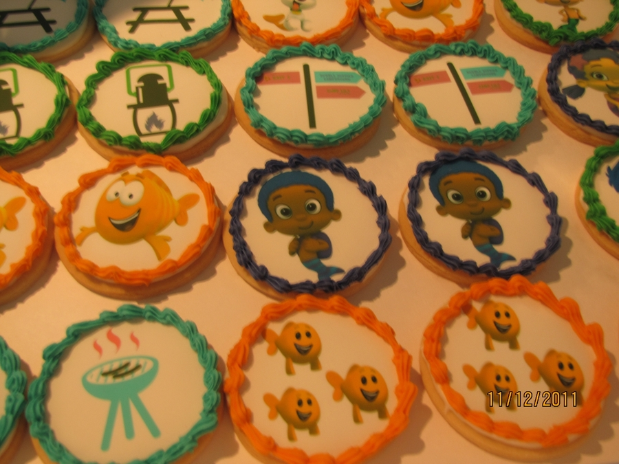 Bubble Guppies Cookies  on Cake Central