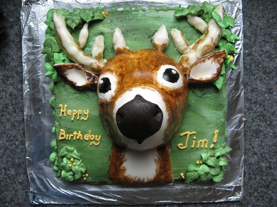 First Deer on Cake Central