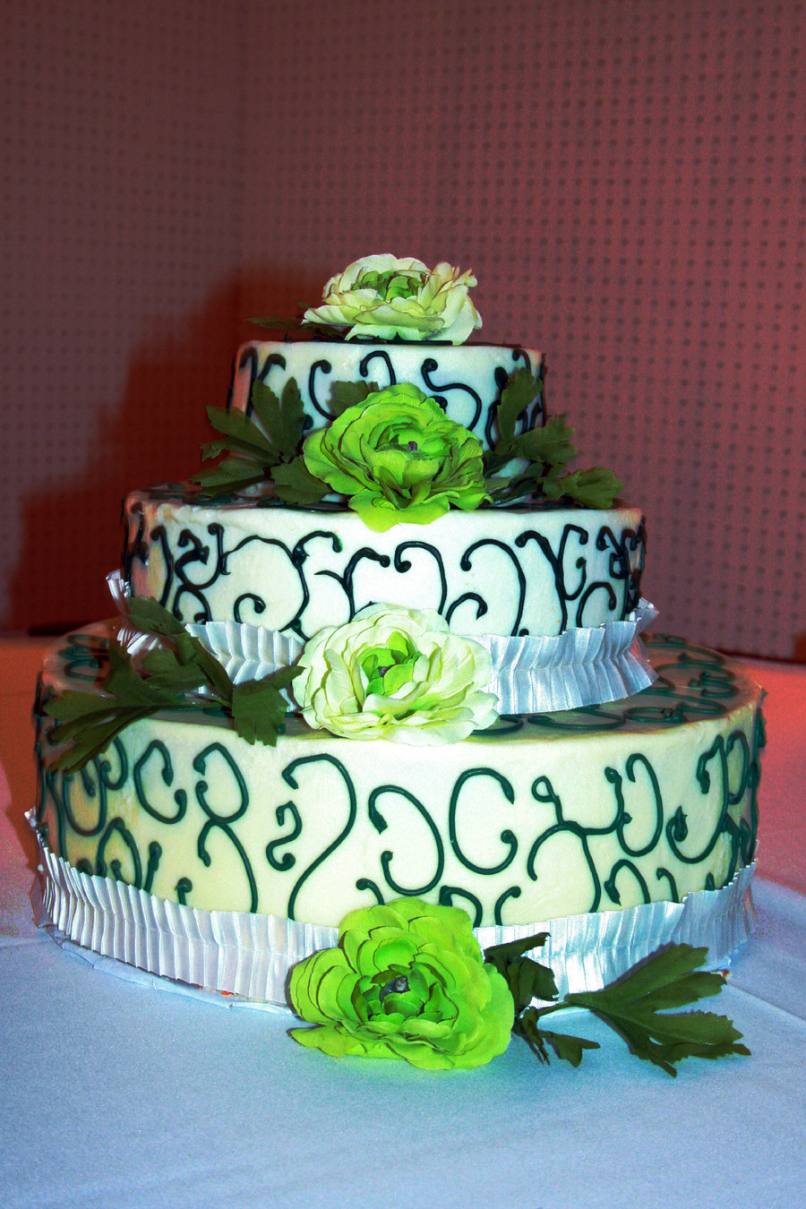 Green For Spring on Cake Central