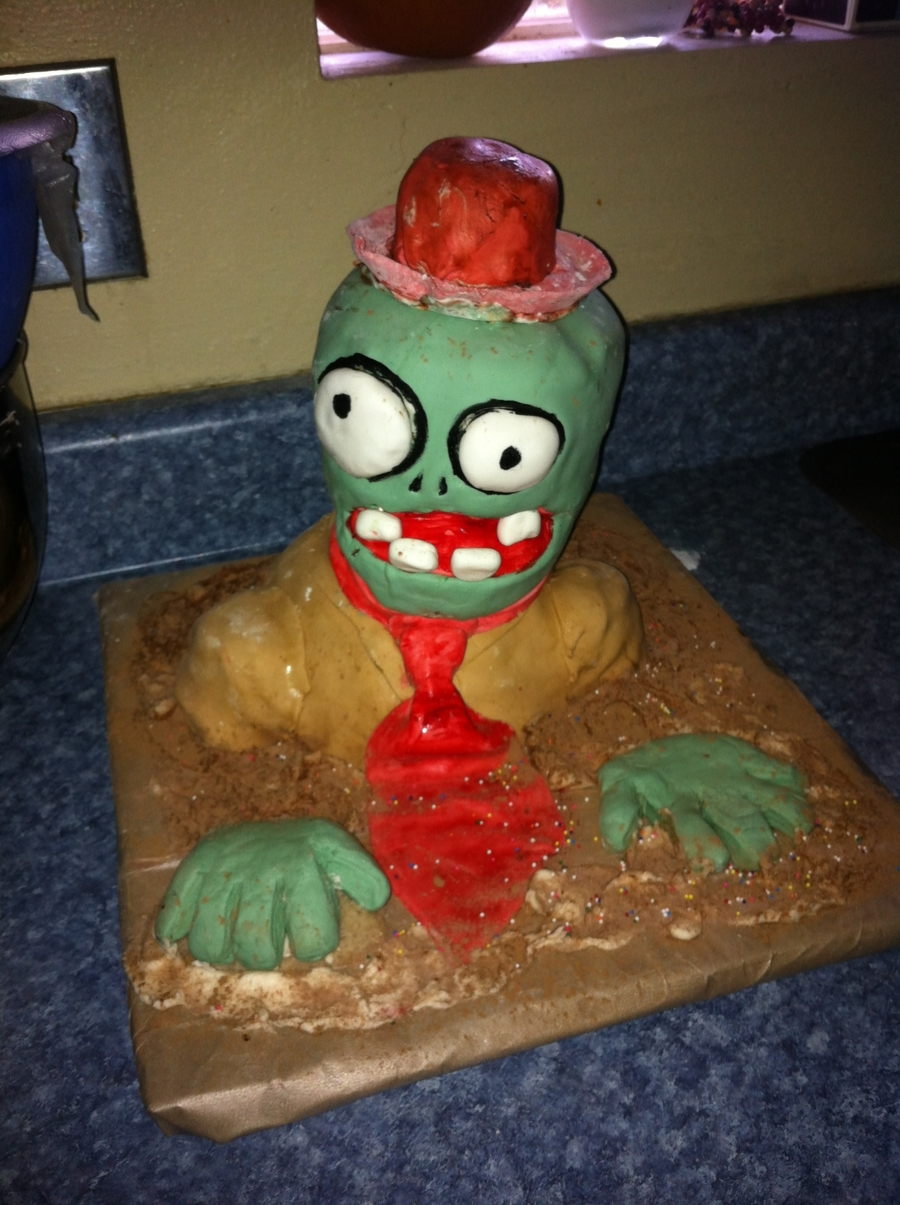 Plants Vs. Zombies on Cake Central