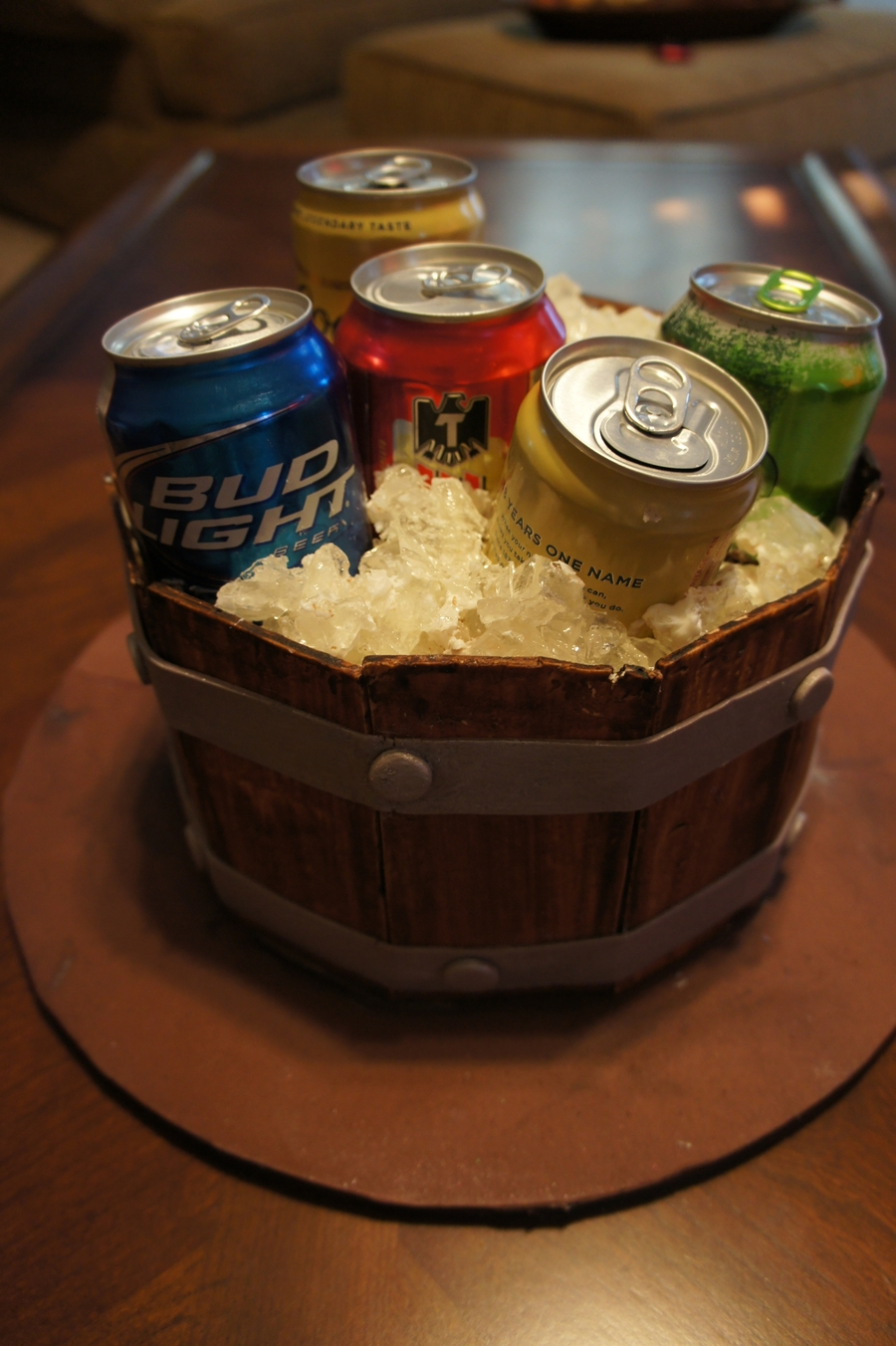 Beer In A Bucket on Cake Central
