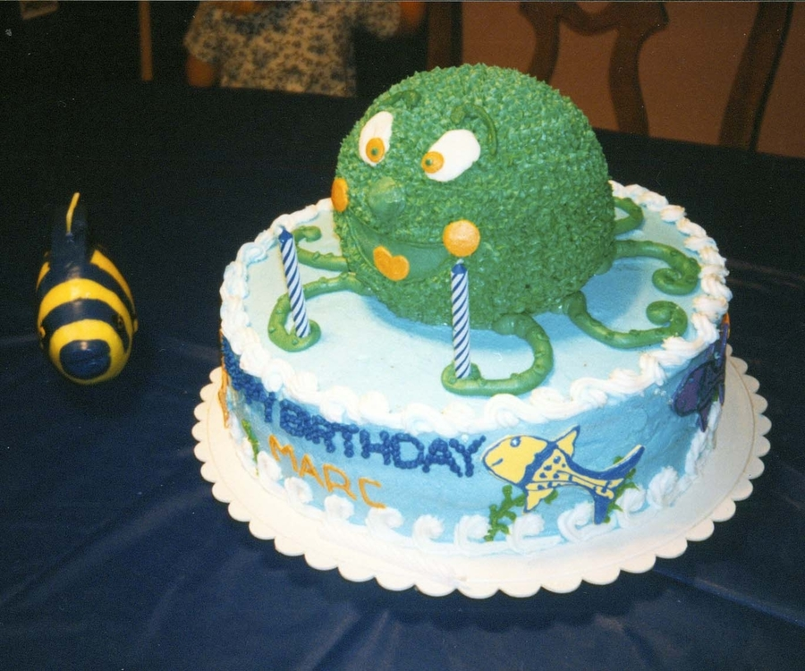 Octopus Birthday on Cake Central