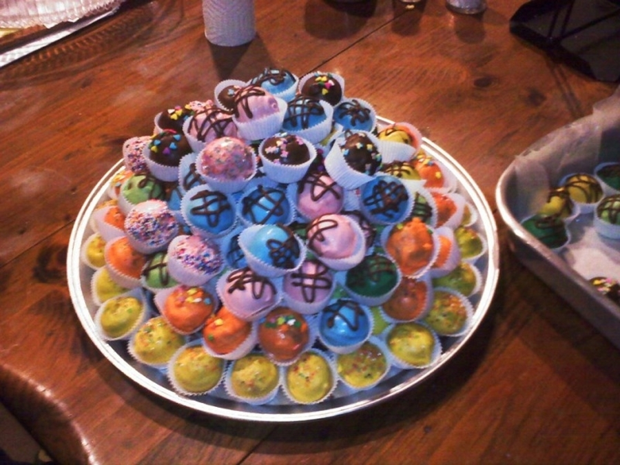 Cake Balls Galore on Cake Central